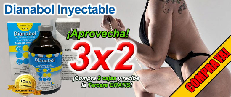 Dianabol Inyectable 100ml y 50ml al 3x2!