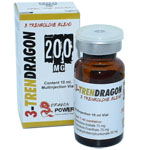 3-TrenDragon 200 - Combinación de 3 Trembolonas 200 mg x 10 ml. Dragon Power - Mezcla de 3 Trembolonas para Super Fuerza y Rayado