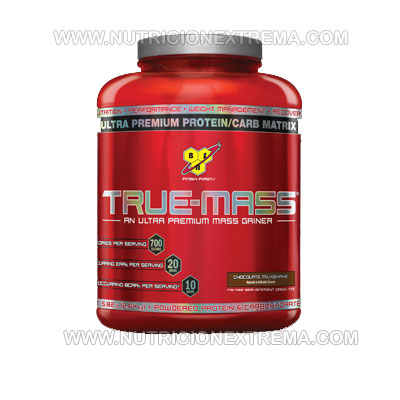 True-Mass 6 libras - Ganancias de masa muscular limpias de grasa. BSN