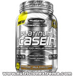100% CASEIN 4LBS. ESSENTIALS SERIES PLATINUM. MUSCLETECH