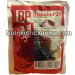 Dianabol 25 Dianabol 25 mg. Methandienone. 100 tabletas.