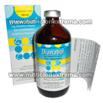Dianabol Inyectable 100ml - Es una suspension oleosa inyectable de methandianona al 2.5%
