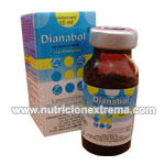 Dianabol Inyectable 10ml - Es una suspension oleosa inyectable de methandianona al 2.5%