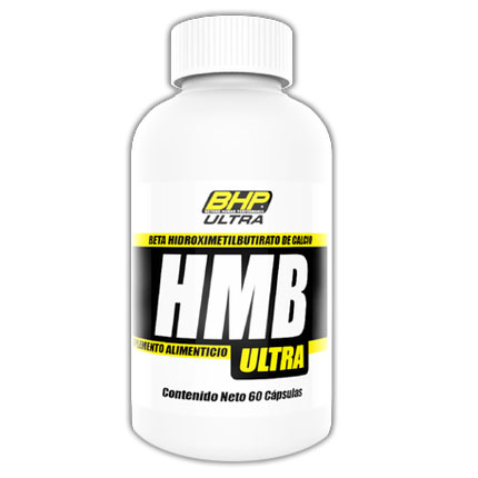 HMB 1000 mg (beta-hidroxy-beta- metilbutirato). BHP Nutrition