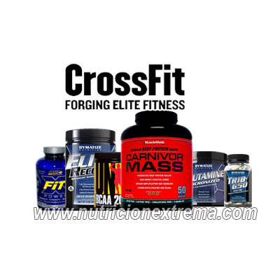CrossFit-Pack Suplementos Masa - Fuerza Xtreme - Stack para aumento de masa muscular magra. Crossfit