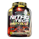 Nitro-Tech Whey Gold - 5.54 lbs Proteina de Suero 24 gr. Calidad Superior. Muscle-Tech.