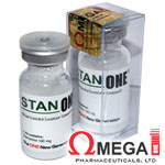 Stan ONE - Estanozolol - Winstrol 100mg x 10 ml. Omega 1 Pharma