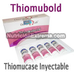 Thiomubold - Thiomucase Inyectable Caja con 5 viales. 100% Original. Omega Lab.