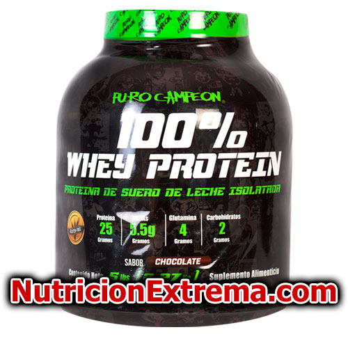 100% Whey Protein 5 lbs PURO CAMPEON