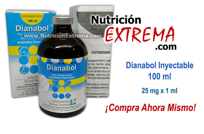 Dianabol Inyectable 100 ml