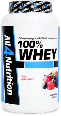100% Whey Protein de ALL 4 Nutrition