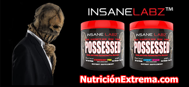 Possessed de Insane Labz en NutricionExtrema.com